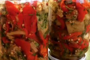 Patlıcan Biber Ekşileme (Konserve)
