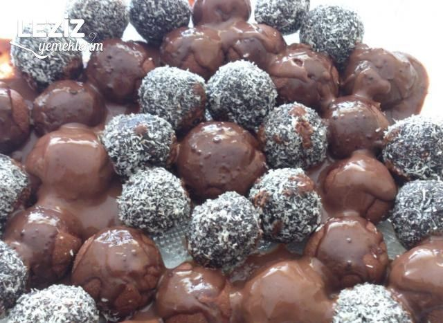 Çikolata Soslu Bonbon