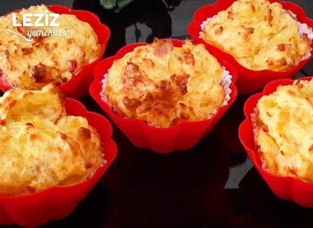 Az Malzemeli Yağsız Unsuz Patatesli Muffin