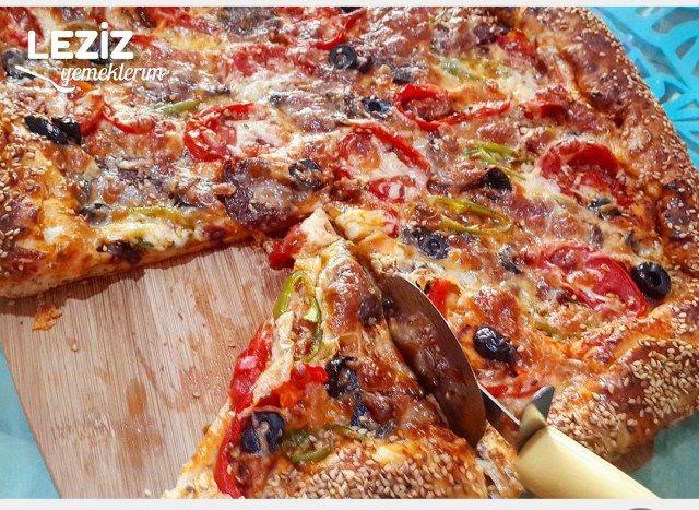 Dolgu Kenarlı Nefis Pizza