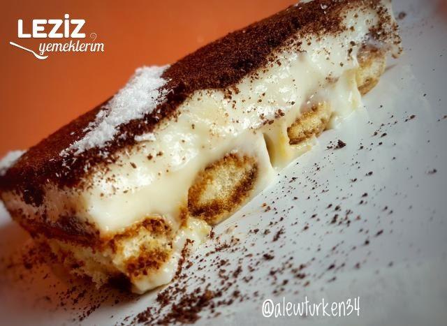 Tiramisu Tadında 10 Dk. Pastası (Bomba Lezzet)