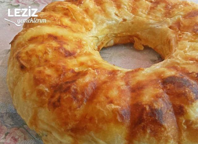 Kek Kalıbında Börek Yapımı