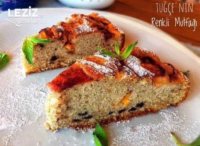 Şeftalili Tarçınlı Pamuk Kek