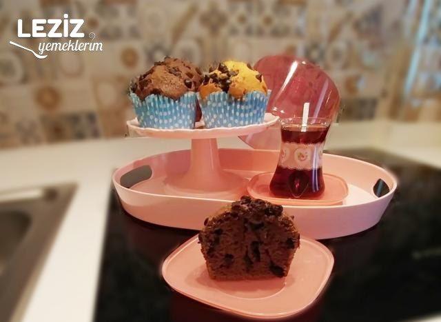 Damla Çikolatalı Mini Kek
