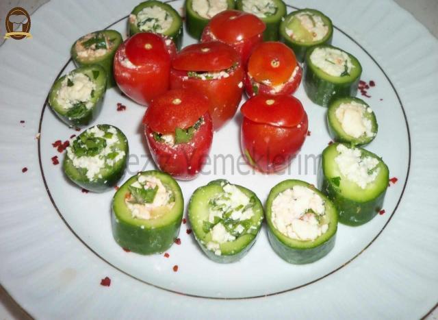 Domates Ve Salatalık Dolması
