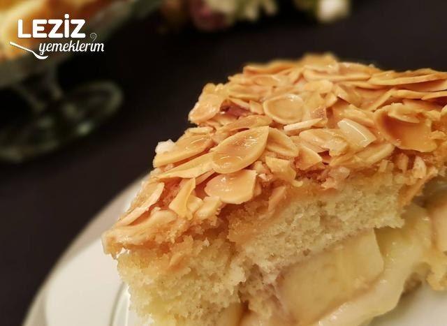 Muzlu Bal Badem Pastası