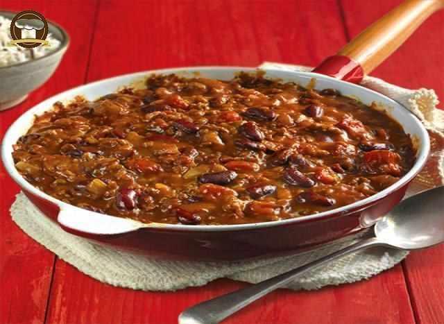 Chilli Con Carne (Acılı Mısır Cipsli Et Yemeği)