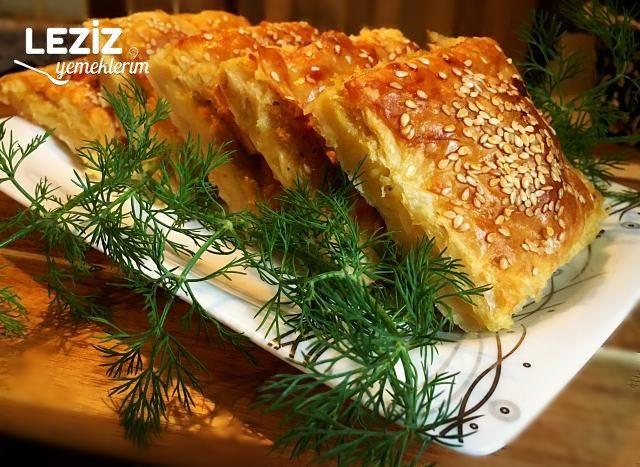 Nişastalı Patatesli Tepsi Böreği (Çıtır Çıtır)