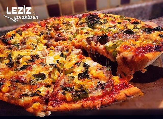 Şeften Spesiyal İtalyan Pizza