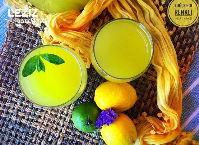 Ev Yapımı Limonata (Garanti Tarif)