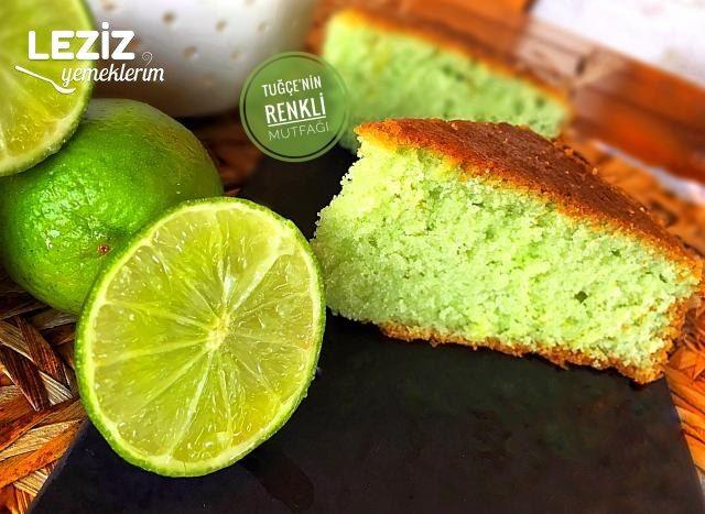 Limonlu Puf Kek