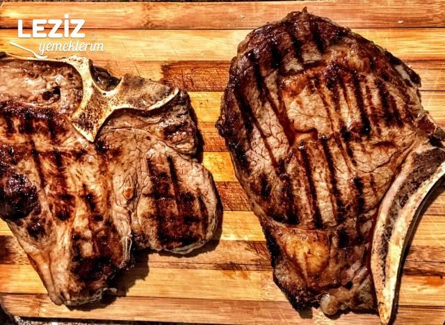 T Bone Steak Ve Pirzola Izgara