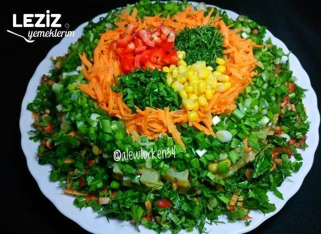 Bol Malzemeli Patates Salatası