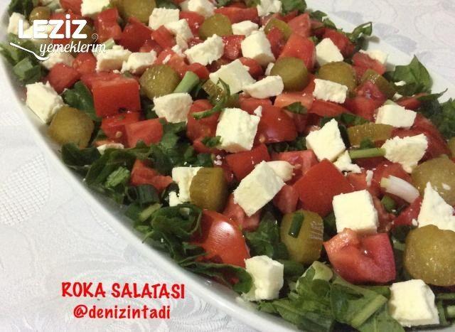 Roka Salatası Nasıl Yapılır