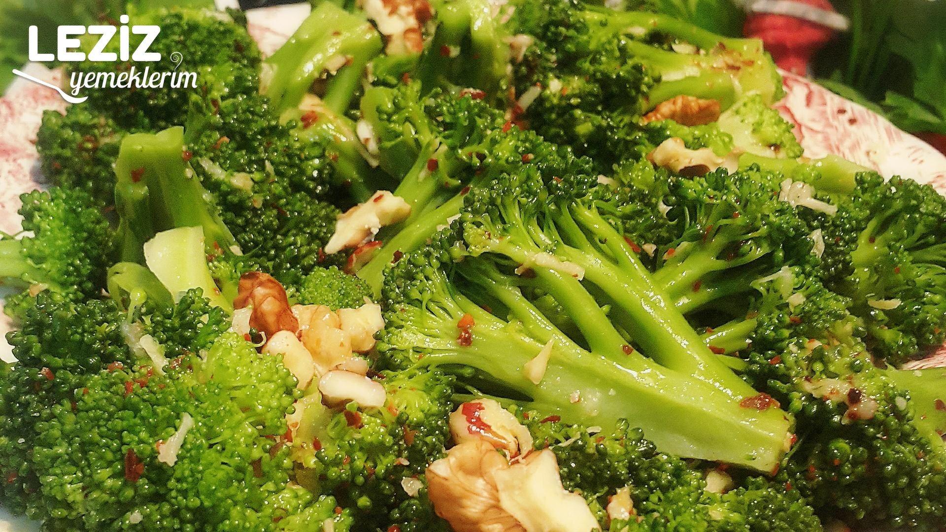 Üç 3 Renkli Brokoli Salatası Videosu