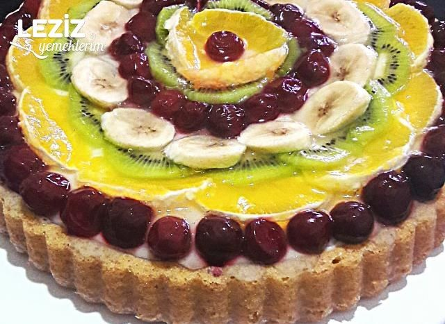 Meyveli Tart Kek Tarifi