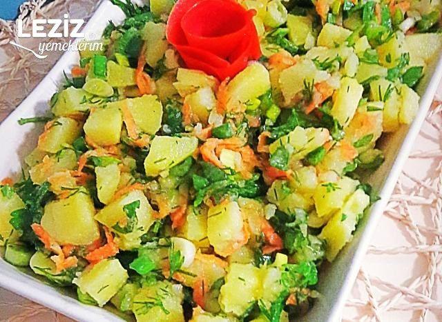 Patates Salatası Tarifi Patates Salatası Nasıl Yapılır