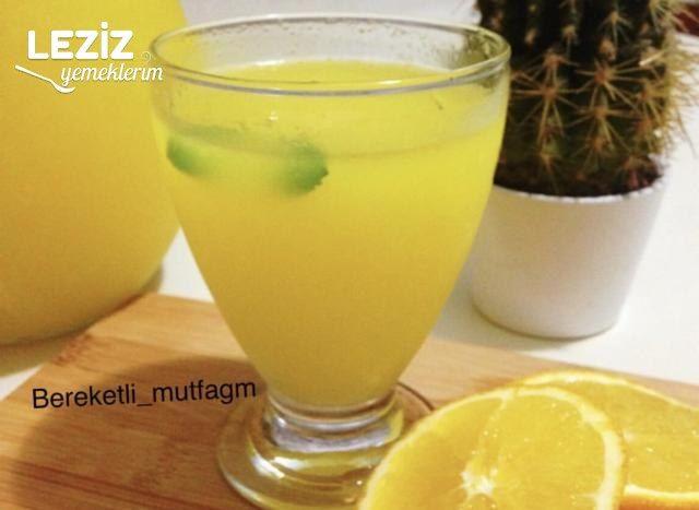 Limonata Yapılışı