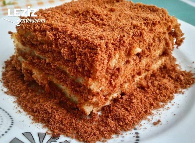 İrmikli Köstebek Pasta