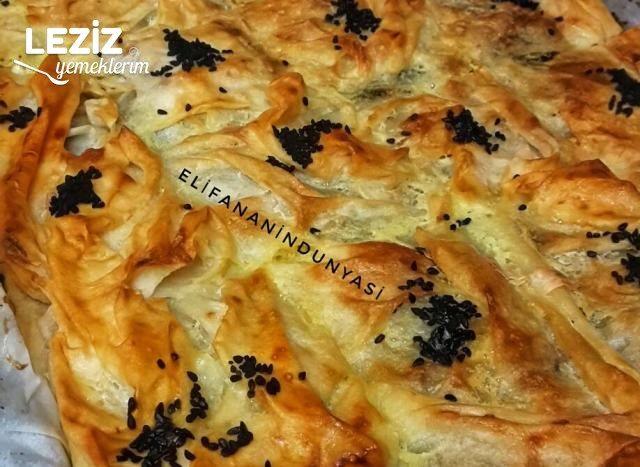 Sodalı Ispanaklı Börek Yapımı