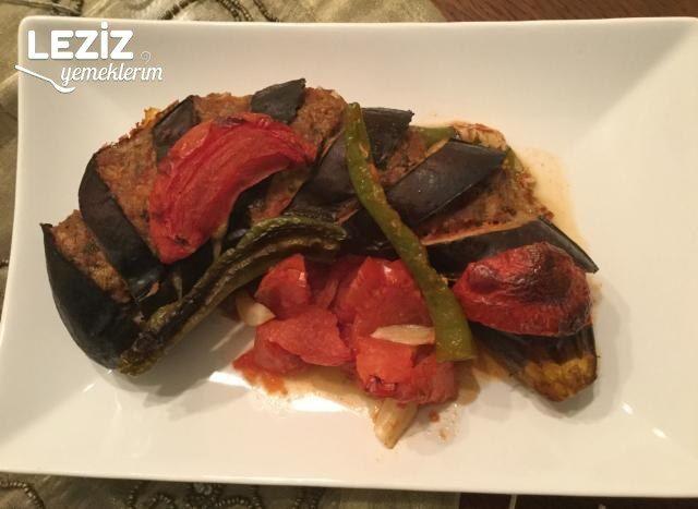 Köfteli Beli Kırık Patlıcan Kebabı