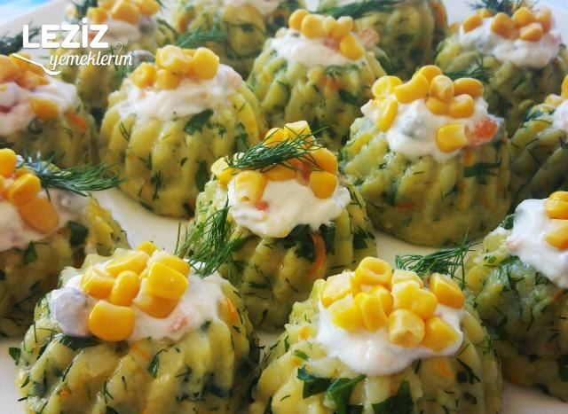Ezme Patates Salatası Tarifi