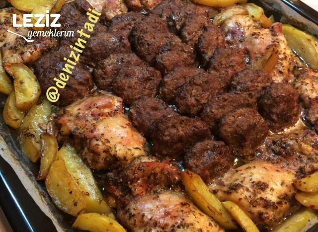 Tavuk Köfte Fırında