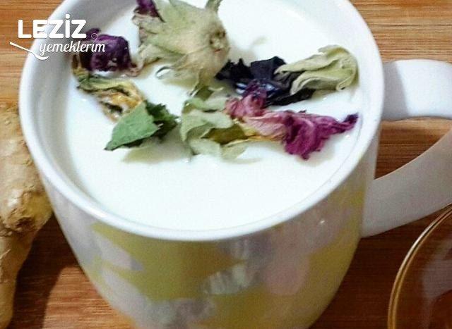 Şifa Deposu Sütlü Zencefilli Hatmi Çiçeği