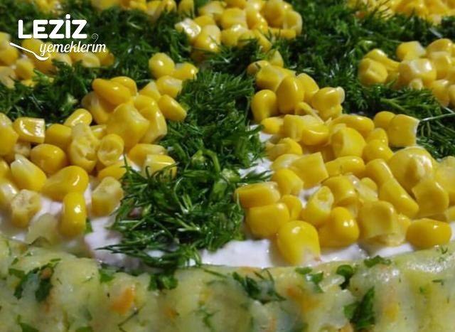 Tart Kalıbında Patates Salatası