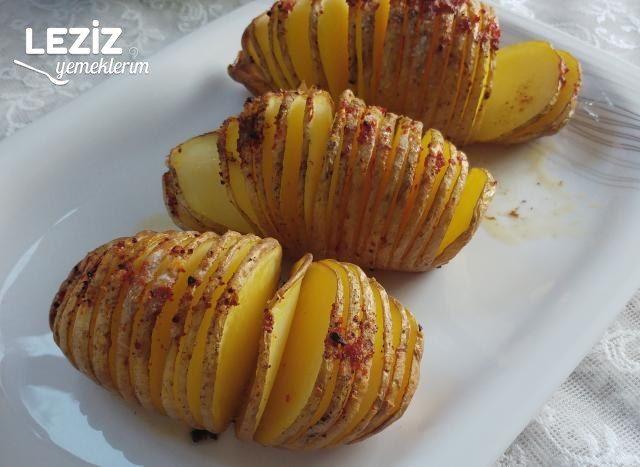 Fırında Yaprak Patates