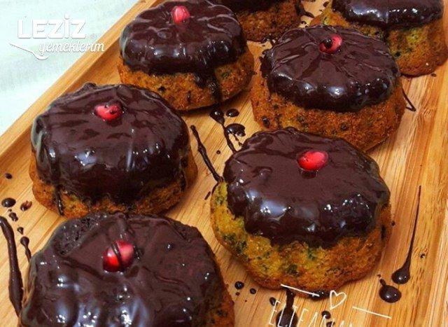Mini Ispanaklı Kekler