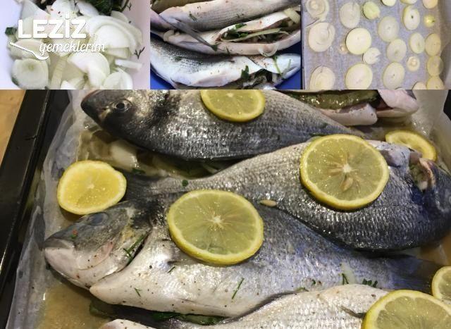 Fırında Çipura Balığı