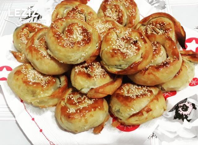 Ispanaklı Yufka Böreği