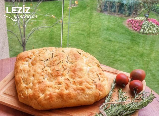 Biberiyeli Kekikli Ekmek