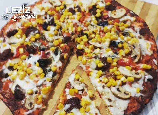 Karışık Pizza Tarifi, Karışık Pizza Nasıl Yapılır