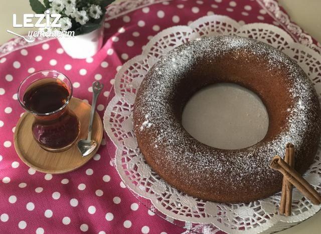 Tarçınlı Cevizli Kek Tarifi