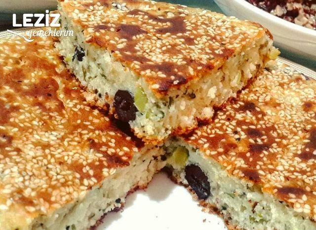 Puf Puf Kabaran Nefis Zeytinli Çörek