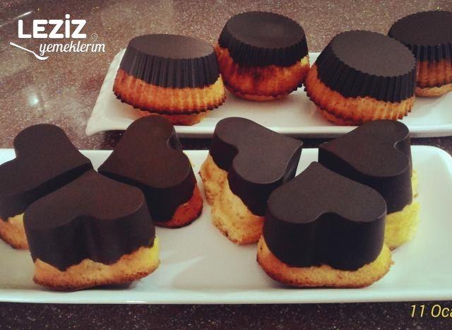 Havuçlu Çikolatalı Muffin