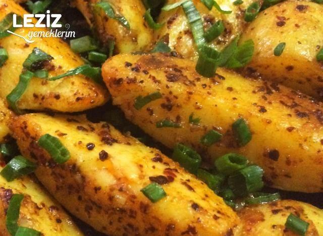 Elma Dilimi Taze Patates