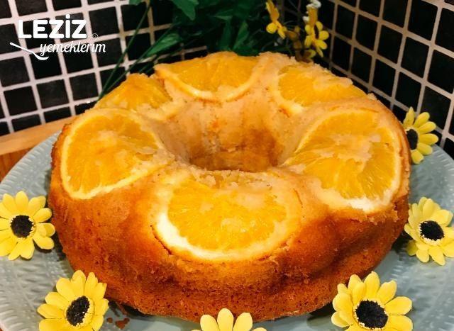Portakallı Kek Tarifi (Tam Ölçü)