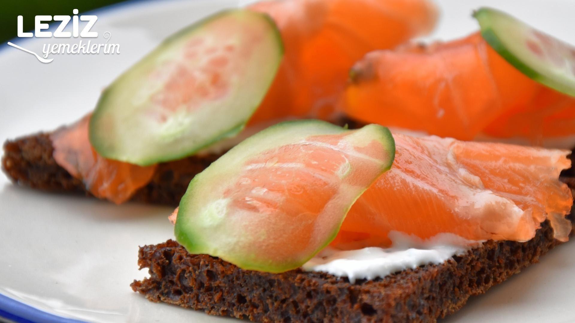 SOMON SANDVİÇ TARİFİ (Balık Dolması, Balıklı Börek)