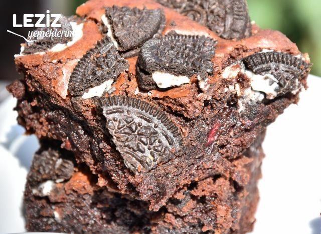 Frambuazlı Oreo Brownie