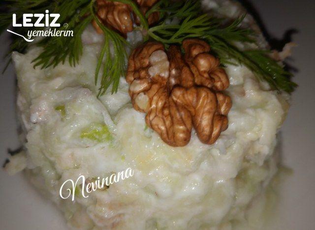Kereviz Salatası Yapımı