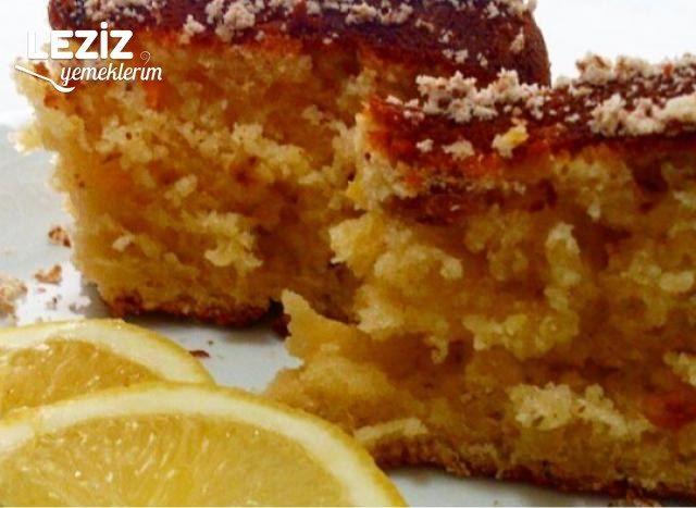 Kolay Limonlu Kek