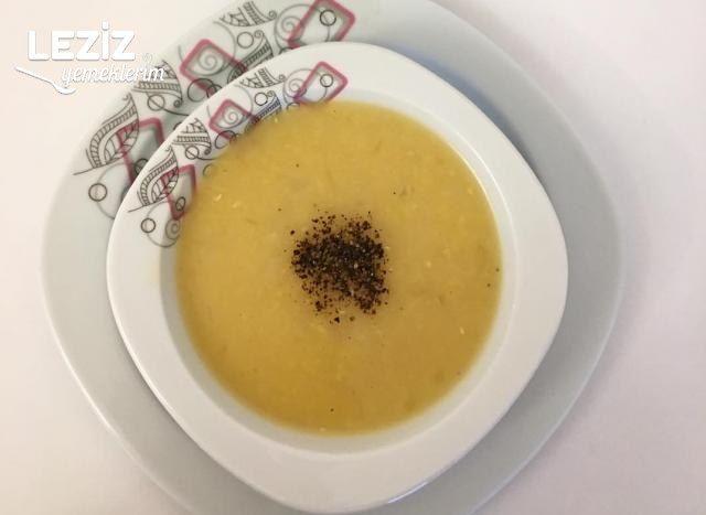Meyaneli Mercimek Çorbası