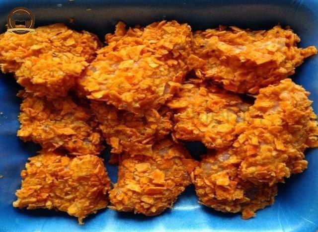 Fırında Cipsli Tavuk