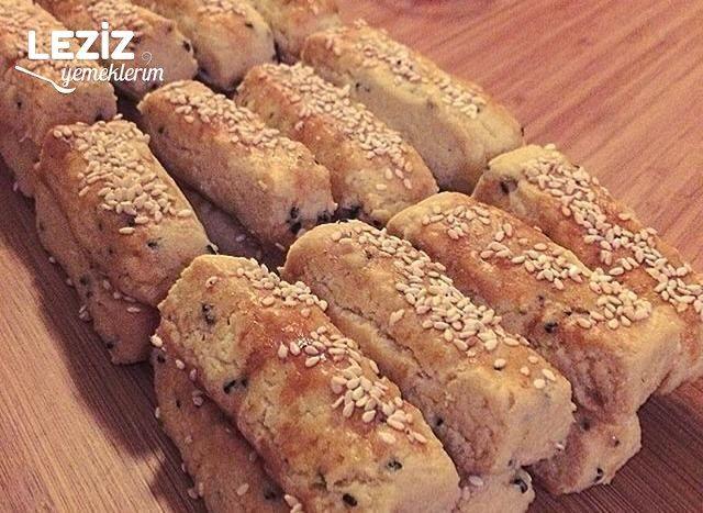 Tuzlu Pastane Kurabiyesi (Ev Yapımı)