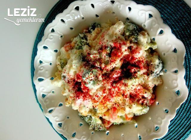 Brokolili Sebze Salatası