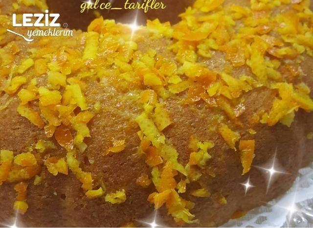 Portakal Soslu Kek Yapılışı