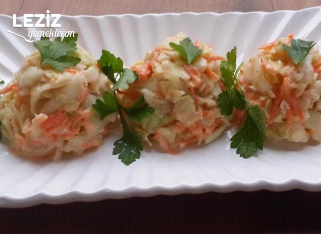 Beyaz Lahanalı Salata